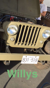 1962 Willys Jeep for sale!