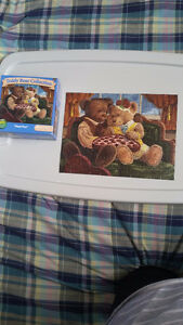 "100 Piece Puzzle 9'' x 12'' ""Happy Days"" Teddy Bear Collection"