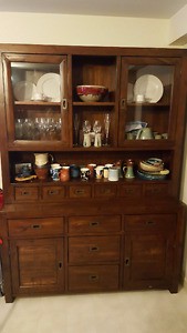 Dining Room Hutch and Cabinet