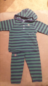 MEC Bambino Leggings and Hooded Top 18-24 months