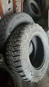 2 Mud hog mts tires