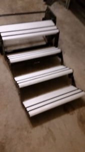 RV Folding Stair Aluminum 4 Steps