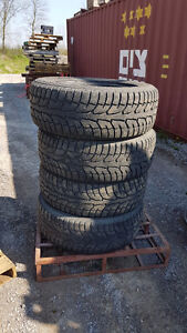 Four Winter Truck Tires P275/60R20