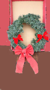 Christmas Wreath with lights +