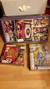 Brand new in boxes. Ever After High.