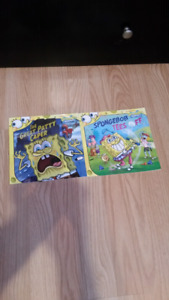 2 SpongeBob books