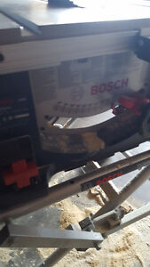 """Bosch 10""""Tablesaw with stand; Milwaukee 12""""Mitresaw with stand Edmonton Edmonton Area image 7"""