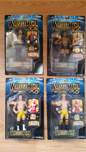 WWE WrestleMania X-8 Action Figures