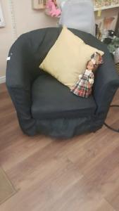 Small club chair