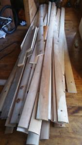 Log clading