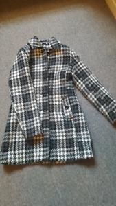 Manteau automne/hiver femme lainage small