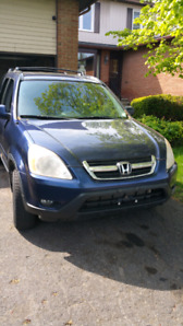 2002 Honda CR-V sunroof leather seats