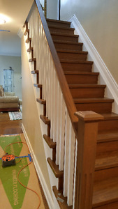 Stairs Renovation and Refinishing
