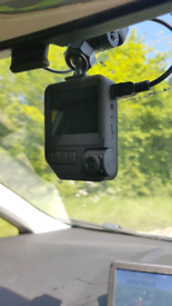 CAR VAN DASH CAM ACCIDENT RECORDER FITTING