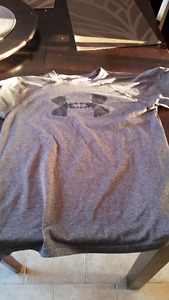 4 Under Armour dri-fit t-shirts