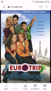 Wanted. Eurotrip movie