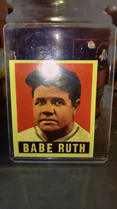 Babe Ruth cards 4 sale...