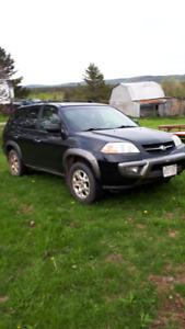 For Sale 2001 Acura MDX AWD