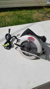JOBMATE CIRCULAR SAW- GOOD CONDITION-NEW CARBIDE TIPPED BLADE