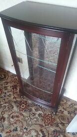 Excellent condition glass cabinet