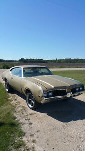 1969 Olds Cutlass S 2dr project.