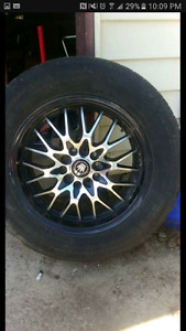 "16"" rims with 55 series tires"
