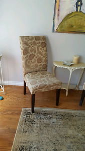 Two Chairs, comfy and stylish