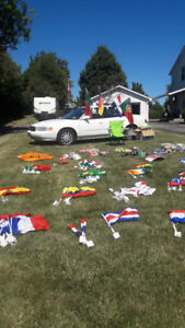 FIFA FLAGS and SWAG!!!