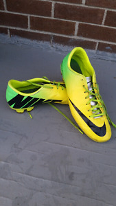 SOCCER SHOES/CLEATS  (size 11, 12)