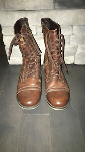 Size 8 Steve Madden Combat Boots