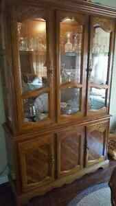 Antique Dining Hutch