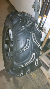 Set of 4 Zilla tires 30""