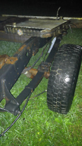 Leaf springs Ford 9""