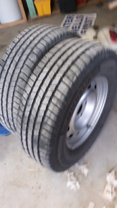 Dodge ram rims and tires make an offer