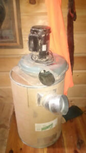 1 HP dust collector and 1 Micro filter for shop dust system