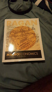 Ragan Macroeconomics 14th Canadian edition Kitchener / Waterloo Kitchener Area image 1