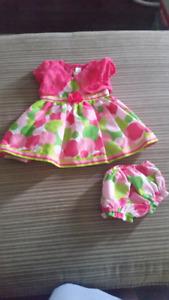 3-6 months dresses