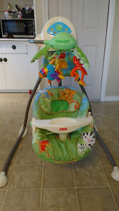 Fisher Price Cradle n' Swing - Rainforest
