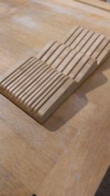 Drawer Bamboo Knife Rack
