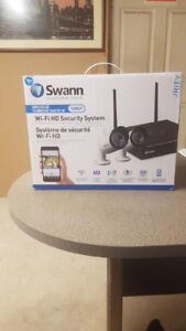 Swann Wi-Fi HD Security System with 2 x 1080p Day/Night Cameras