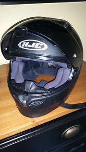 2 XL Black HJC Motorcycle Helmet