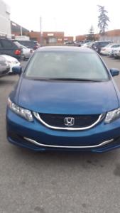 2015 Honda civic EX..automatic.finance available