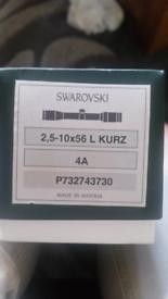 Swarovski optic scope for sale  Fochabers, Moray