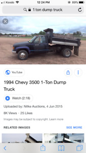 LOOKING FOR 1 TON DUALLY TRUCK