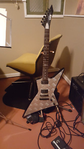ESP Ltd EX351D w/ case, DiMarzio p/ups will trade for road bike