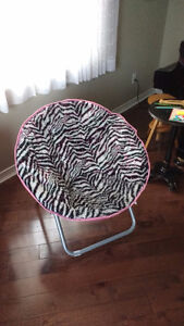 "**$15** Cool girls chair from mall store ""Justice"""