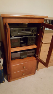 Stereo system and stand