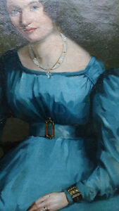Late Georgian Portrait of a Lady by A. Gras