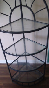 4 teir glass stand