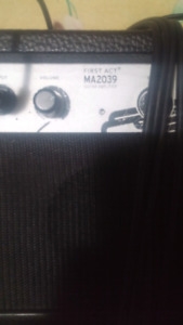 First act travel/practice amp